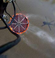 Arkivbild: Övning i brandbekämpning från luften med Försvarsmaktens Helikopter 16 Stefan Jerrevång/TT / TT NYHETSBYRÅN