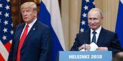 Trump och Putin på toppmötet i Helsingfors Alexander Zemlianichenko / TT NYHETSBYRÅN/ NTB Scanpix