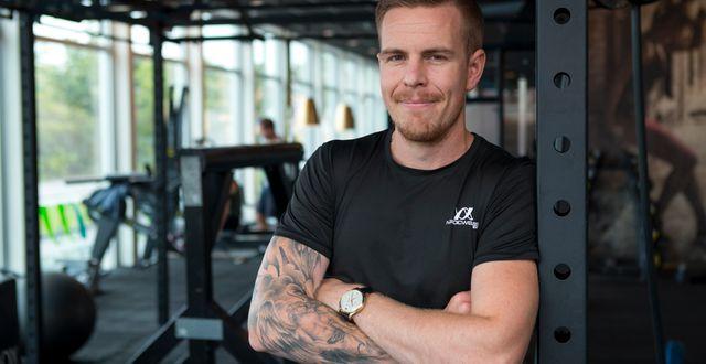 Linus Högberg, personlig tränare.  Nordic Wellness