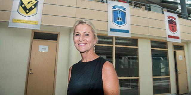 Anette Brodin Rampe, vd Engelska skolan. Lars Pehrson/SvD/TT / TT NYHETSBYRÅN