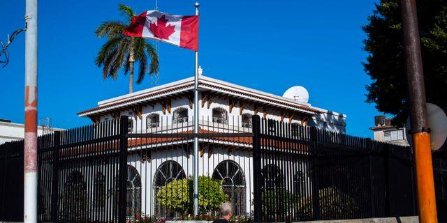 Arkivbild: Kanadas ambassad i Havanna. Desmond Boylan / TT NYHETSBYRÅN/ NTB Scanpix
