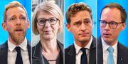 Jakob Forssmed (KD), Elisabeth Svantesson (M), Emil Källström (C) och Mats Persson (L) kräver att regeringen gör om förslaget om flytträtt för pensionsförsäkringar. TT