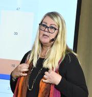 Annika Wallenskog, chefsekonom på SKR.  Claudio Bresciani/TT / TT NYHETSBYRÅN