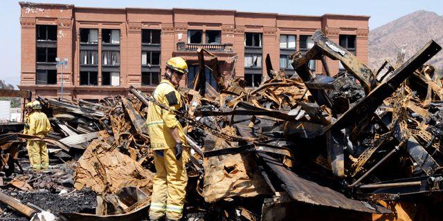 Branden bröt ut den 1 juni 2008  Ric Francis / TT NYHETSBYRÅN/ NTB Scanpix