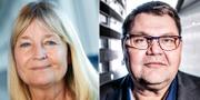 Marita Ulvskog och Peter Lundgren. TT
