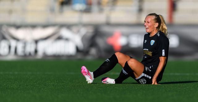 Stina Blackstenius under matchen mot FC Rosengård. PETTER ARVIDSON / BILDBYRÅN