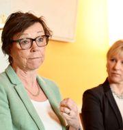 Kabinettsekreterare Annika Söder och utrikesminister Margot Wallström (S), 2016. Marcus Ericsson/TT / TT NYHETSBYRÅN