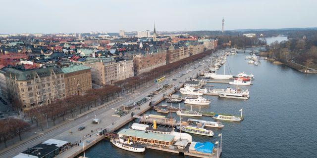 Arkivbild: Strandvägen vid Östermalm i Stockholm Fredrik Sandberg/TT / TT NYHETSBYRÅN
