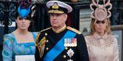 Prins Andrew på prins Williams bröllop 2011. Gero Breloer / TT / NTB Scanpix