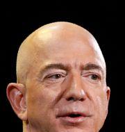 Arkivbild: Amazons vd Jeff Bezos.  John Locher / TT NYHETSBYRÅN/ NTB Scanpix