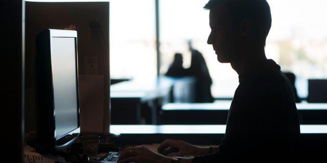 En arbetsplats. Arkivbild. FREDRIK SANDBERG / TT / TT NYHETSBYRÅN