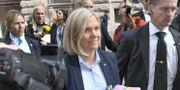Finansminister Magdalena Andersson (S). Claudio Bresciani/TT / TT NYHETSBYRÅN