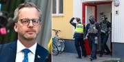 Mikael Damberg (S)/Polisinsats.  TT