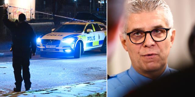 Polisinsats i Malmö/Anders Thornberg. TT