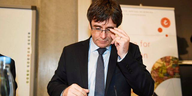 Carles Puigdemont. Tariq Mikkel Khan / TT / NTB Scanpix