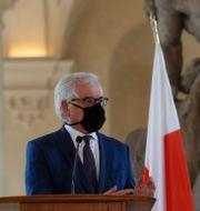 Polens utrikesminister Jacek Czaputowicz. Petr David Josek / TT NYHETSBYRÅN