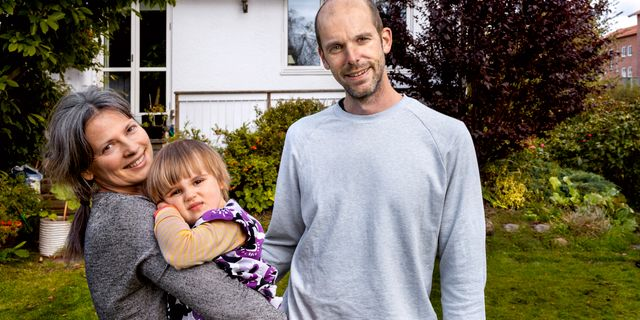 Familjen Lundgren är nöjda med luktsaneraren Ozoneair.  Nicklas Elmrin