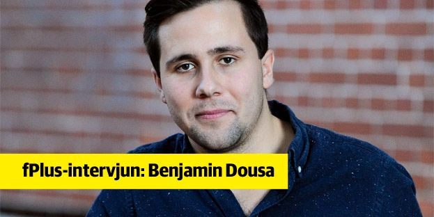 Benjamin Dousa, ordförande för Moderata ungdomsförbundet. Henrik Montgomery/TT / TT NYHETSBYRÅN