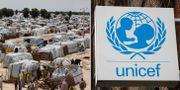 Ett flyktingläger i Maiduguri/Unicef.  TT
