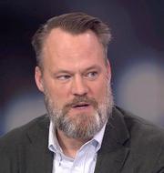 Skärmdump från SVT:s Aktuellt. SVT