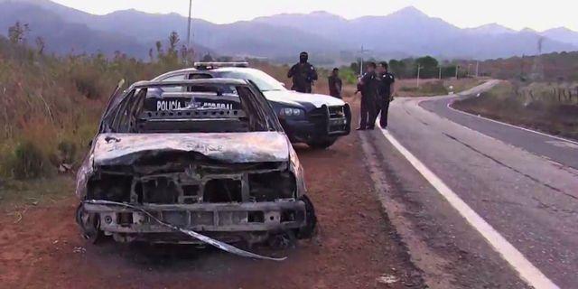 Poliser dodade i attack i mexiko