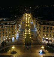 Mannen greps i Thessaloniki. Giannis Papanikos / TT NYHETSBYRÅN