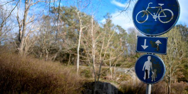 Brottsplatsen i Billdal, 25 år efter händelsen. Björn Larsson Rosvall/TT / TT NYHETSBYRÅN