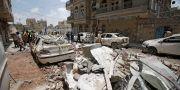 Arkivbild från Sanaa i maj 2019.  Hani Mohammed / TT NYHETSBYRÅN/ NTB Scanpix