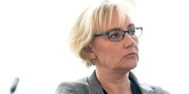 Helene Hellmark Knutsson (S). Pontus Lundahl/TT / TT NYHETSBYRÅN
