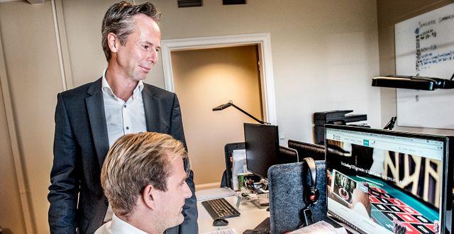Evolutions vd Martin Carlesund. Arkivbild. Tomas Oneborg/SvD/TT / TT NYHETSBYRÅN