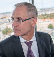 Arkivbild: SAS vd Rickard Gustafson.  Johan Nilsson/TT / TT NYHETSBYRÅN