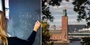 Stockholms stad hamnar på första plats som arbetsgivare för framtida lärare.  TT