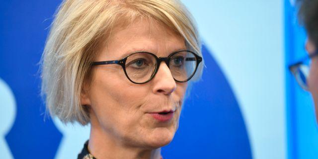 Elisabeth Svantesson. Arkivbild. Fredrik Sandberg/TT / TT NYHETSBYRÅN