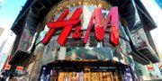 H&M vid Times Square på Manhattan. Arkivbild. Mike Segar / TT NYHETSBYRÅN