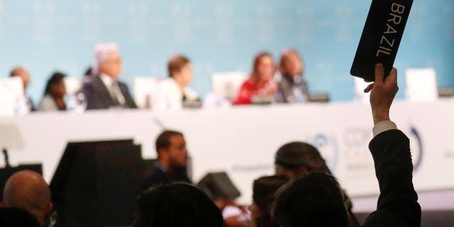 Klimatmötet i Madrid. NACHO DOCE / TT NYHETSBYRÅN