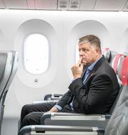Norwegians koncernchef Jacob Schram Ole Berg-Rusten / TT NYHETSBYRÅN