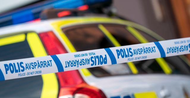 Illustrationsbild, polisbil. Johan Nilsson/TT / TT NYHETSBYRÅN