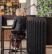 På Väla shoppingcenter har IKEA varit med och skapat en Work Zone med kontorsplatser.