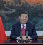 Kina president Xi Jinping. Bebeto Matthews / TT NYHETSBYRÅN
