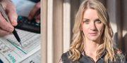 Maria Landeborn, sparekonom och senior strateg vid Danske Bank.  TT