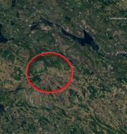 Henvålen i Härjedalen. Google maps