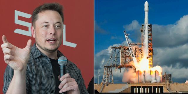 Teslagrundaren Elon Musk till angrepp mot Facebooks vd Mark Zuckerberg.  TT