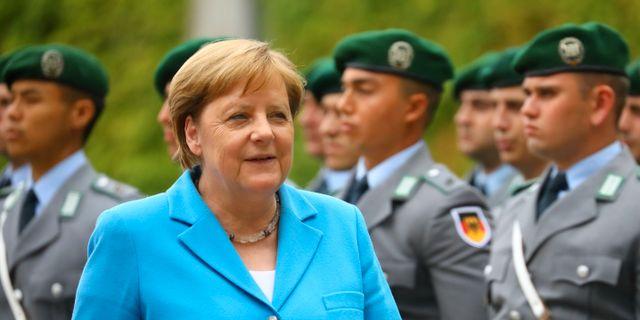 Angela Merkel. Hannibal Hanschke / TT NYHETSBYRÅN