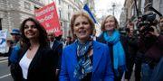 Tory-medlemmen Heidi Allen blir interimsledare för det nya partiet. Kirsty Wigglesworth / TT NYHETSBYRÅN/ NTB Scanpix