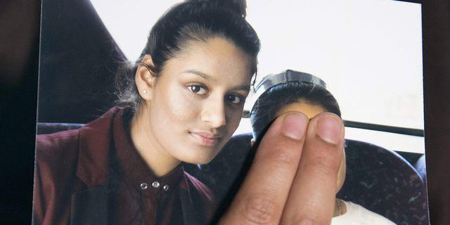 Arkivbild. Shamima Begum. LAURA LEAN / POOL