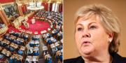Norges statsminister Erna Solberg.  TT