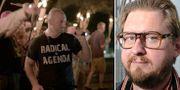 Vit makt-demonstranter i Charlottesville/Fredrik Virtanen. TT