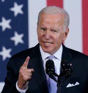 Joe Biden, arkivbild. Susan Walsh / TT NYHETSBYRÅN