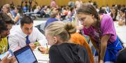 450 deltagare från 37 länder är på plats i Schweiz för 'Fridays For Future Summit' som avlutas idag. TT