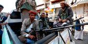 Huthirebeller i Jemen. MOHAMMED HUWAIS / AFP